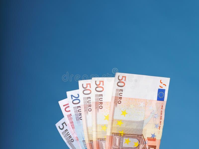 Billets de banque européens d'euro de devise photo libre de droits
