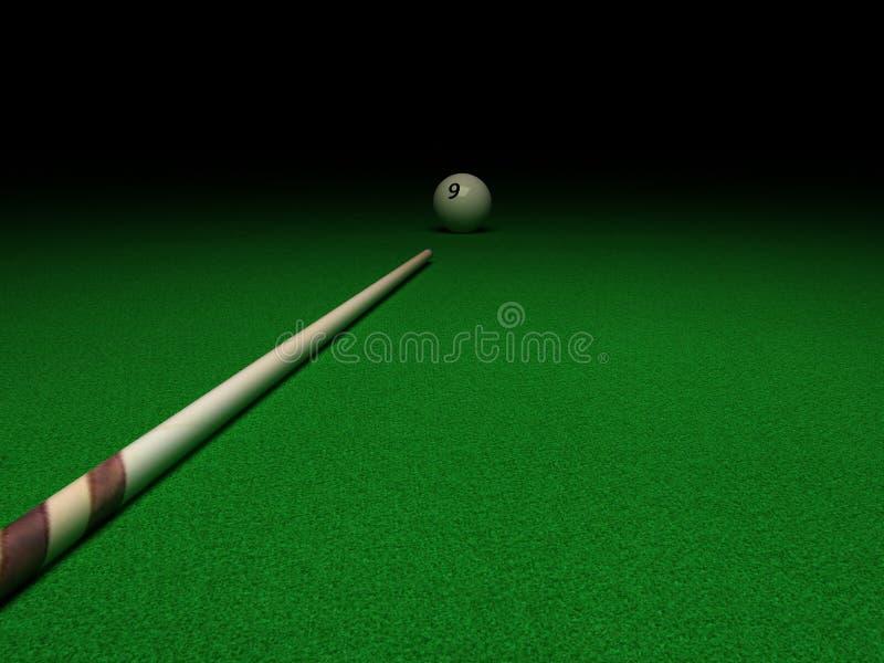 Billiard stock abbildung