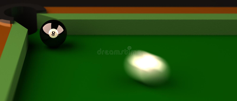 billiard vector illustration