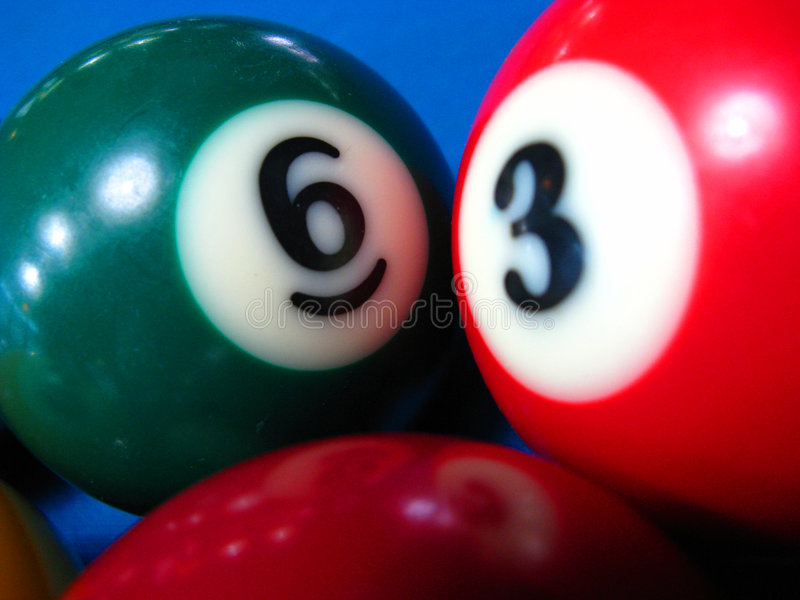 Billiard#4 royalty free stock images