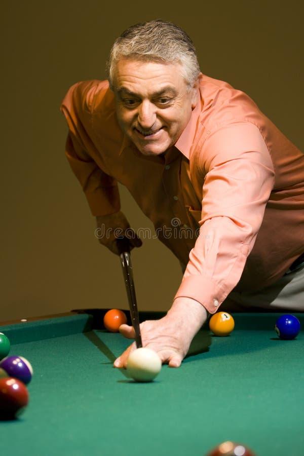 billiard royaltyfri bild