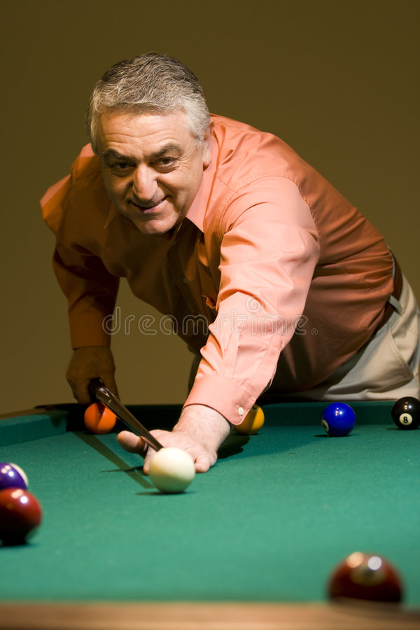 Billiard Royaltyfri Fotografi