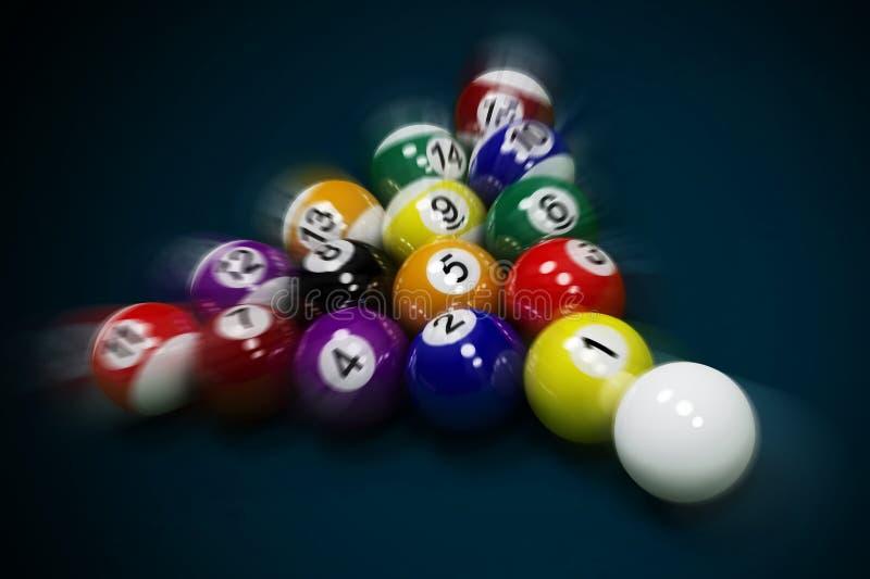Billiard Balls Royalty Free Stock Photo