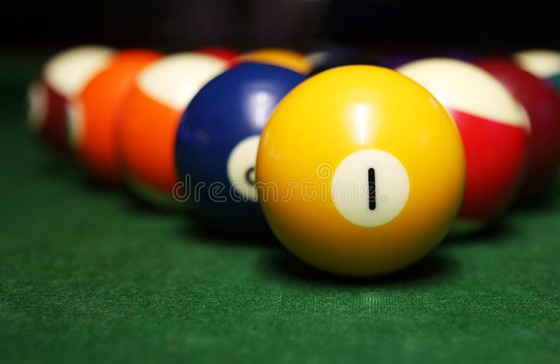 Download Billiard balls stock photo. Image of colours, colors - 16053956