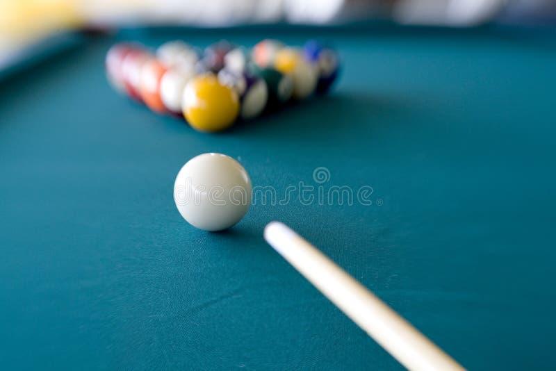 Billiard-Bruch 4 lizenzfreie stockfotografie