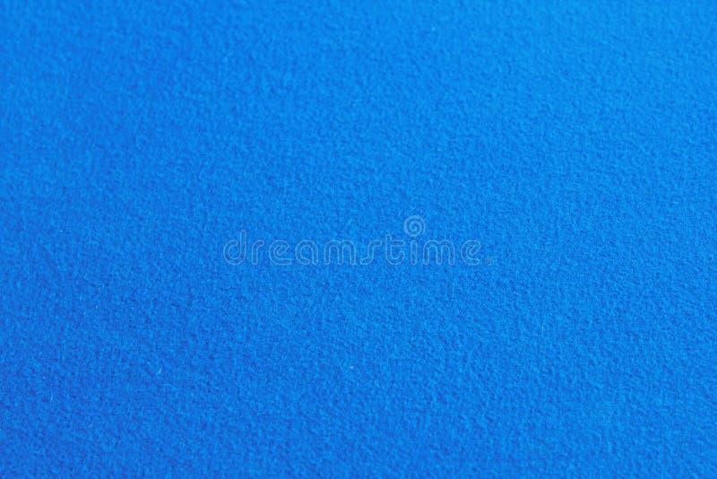 Billiard för flanell för Woolen tyg för bakgrund blå royaltyfri bild