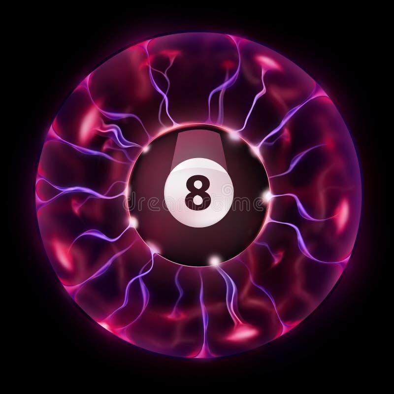 Billiard-Kugel-Rad vektor abbildung