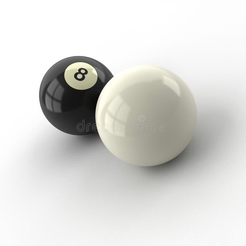 Billiard-Kugeln vektor abbildung