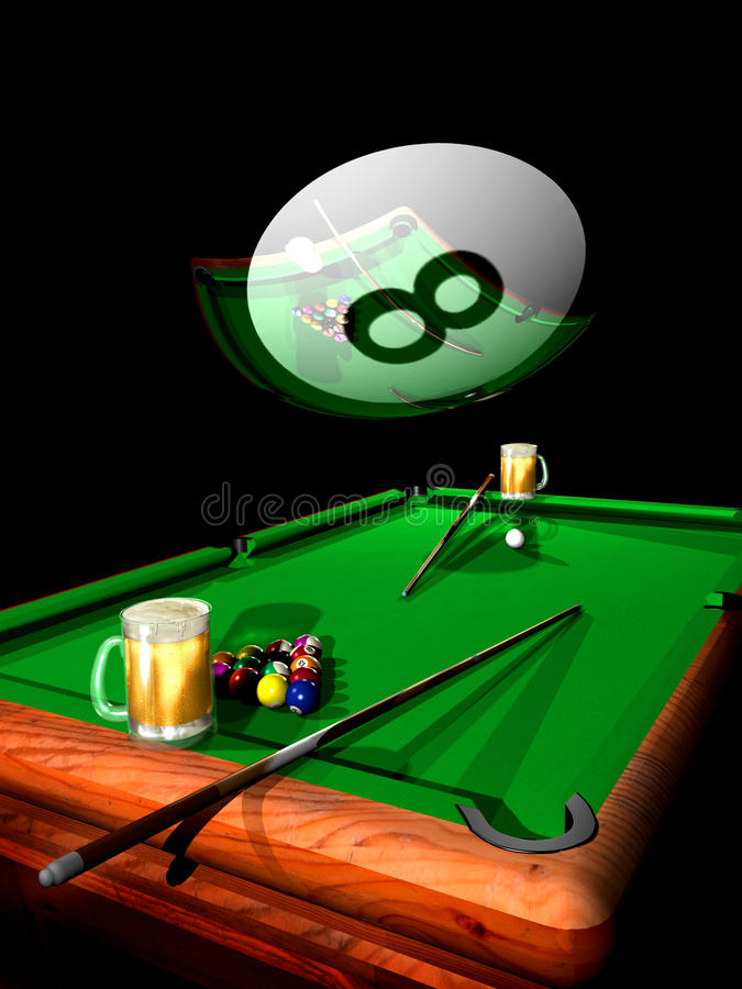 Free Billiard Party Stock Photography - 25529482