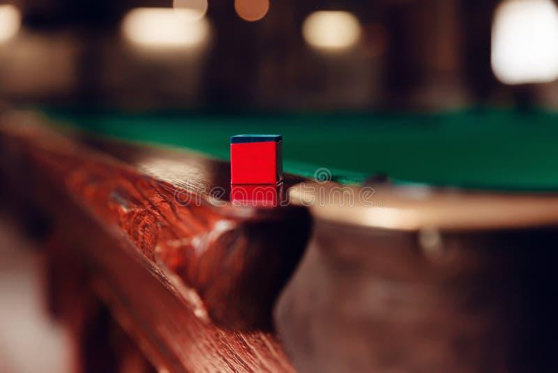 Billiard pocket royalty free stock photo