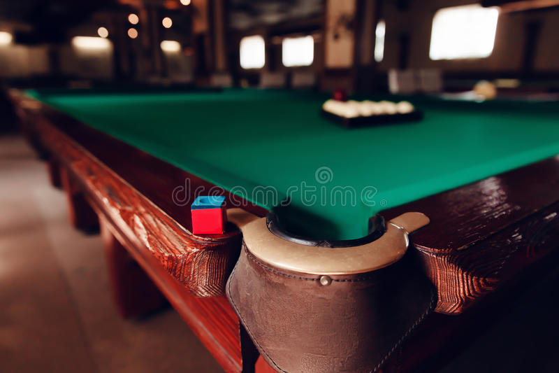 Billiard pocket royalty free stock images