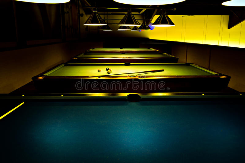 Download Billiard saloon stock photo. Image of parlor, table, hall - 22028394