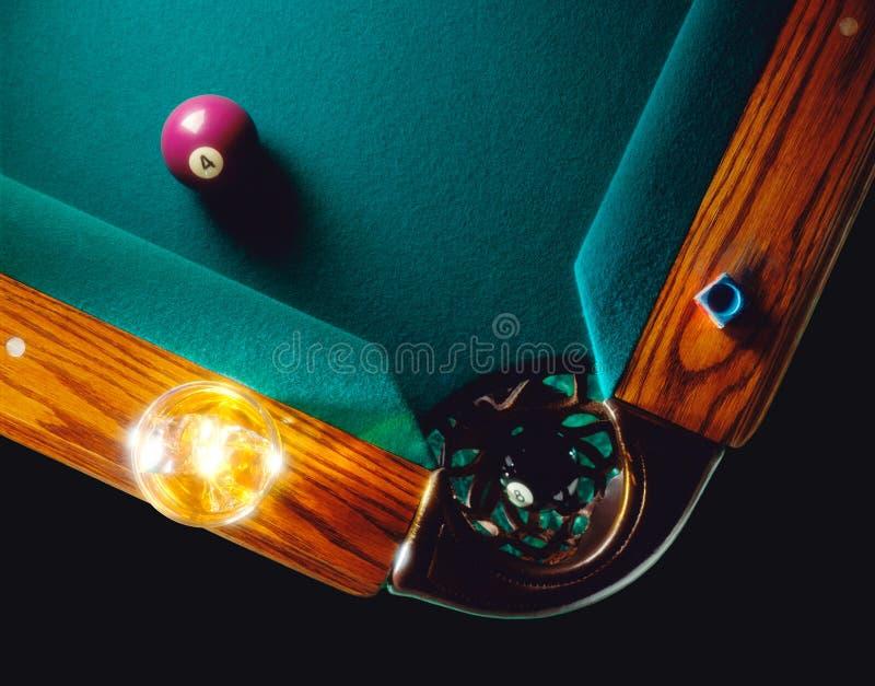 Billiard Table stock photos