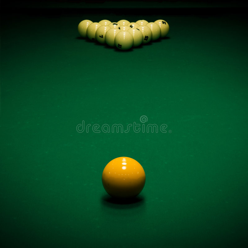 Download Billiard table stock image. Image of round, ball, billiards - 8040053