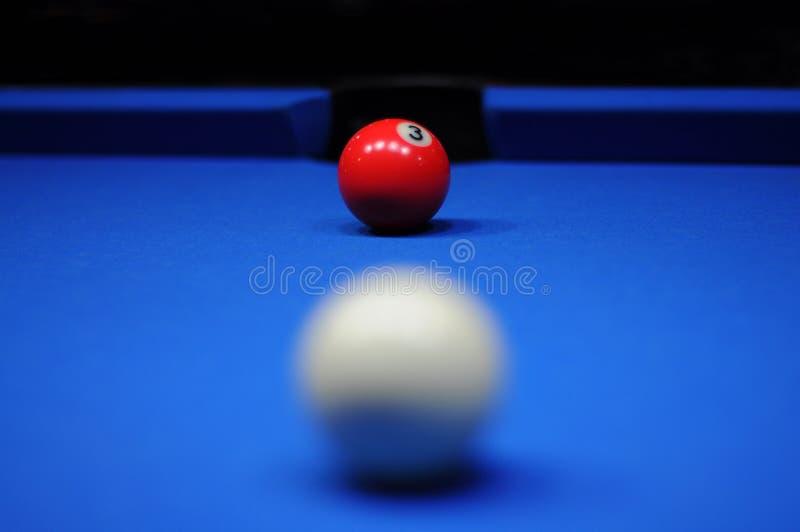 Billiardkugel lizenzfreie stockfotos