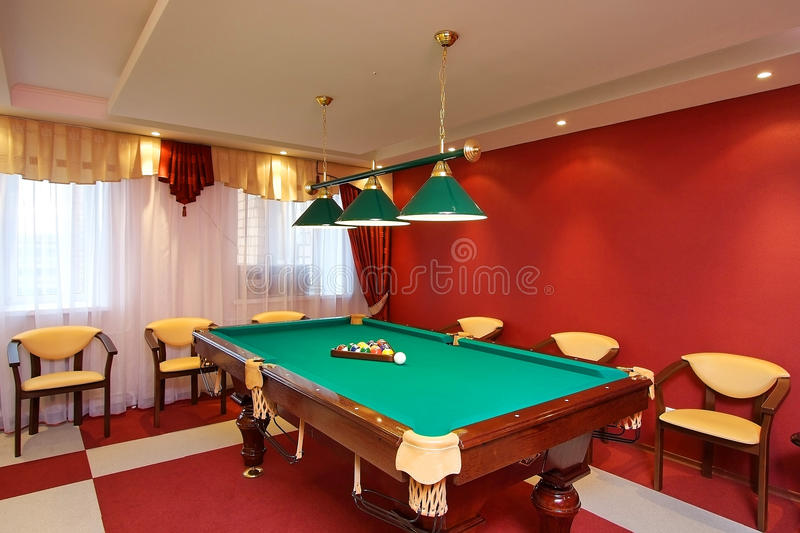 Download Billiards stock photo. Image of lighting, ceiling, business - 11215314