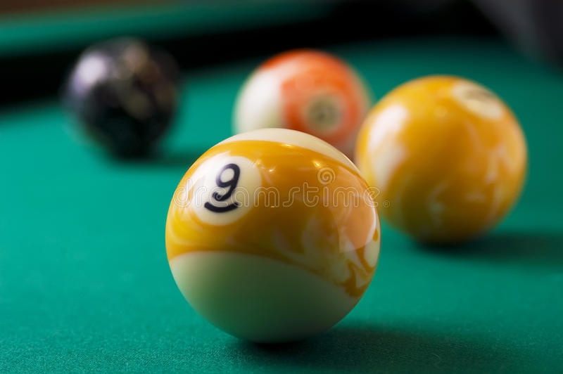 billiards zdjęcia stock