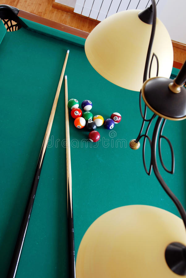 Download Billiards stock photo. Image of green, object, gambling - 18410254