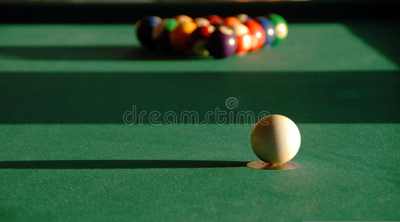 Download Billiards stock image. Image of opposition, colorful - 18607249
