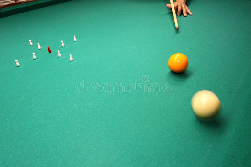 billiards foto de stock