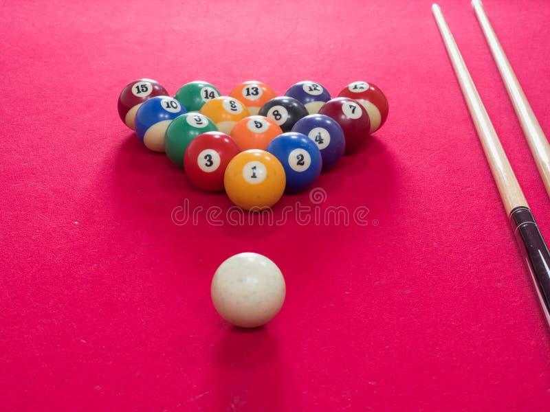 billiards imagem de stock