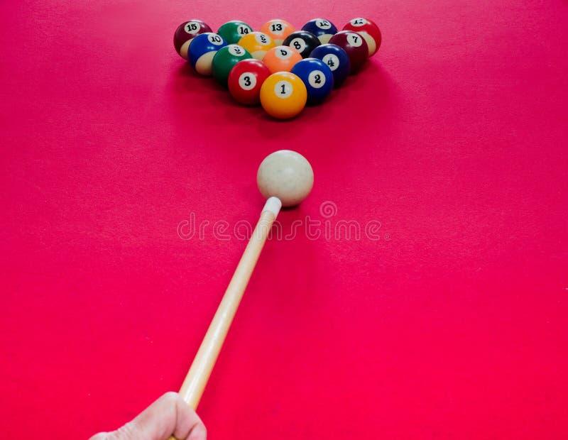 billiards imagem de stock royalty free