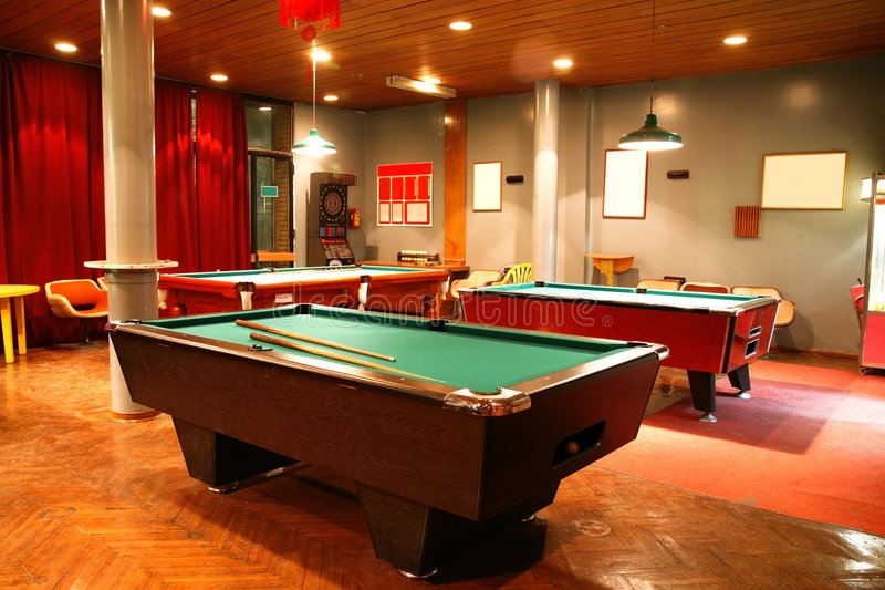 Download Billiards stock image. Image of interior, play, object - 7491097