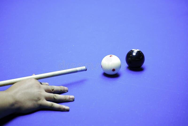 billiards imagens de stock