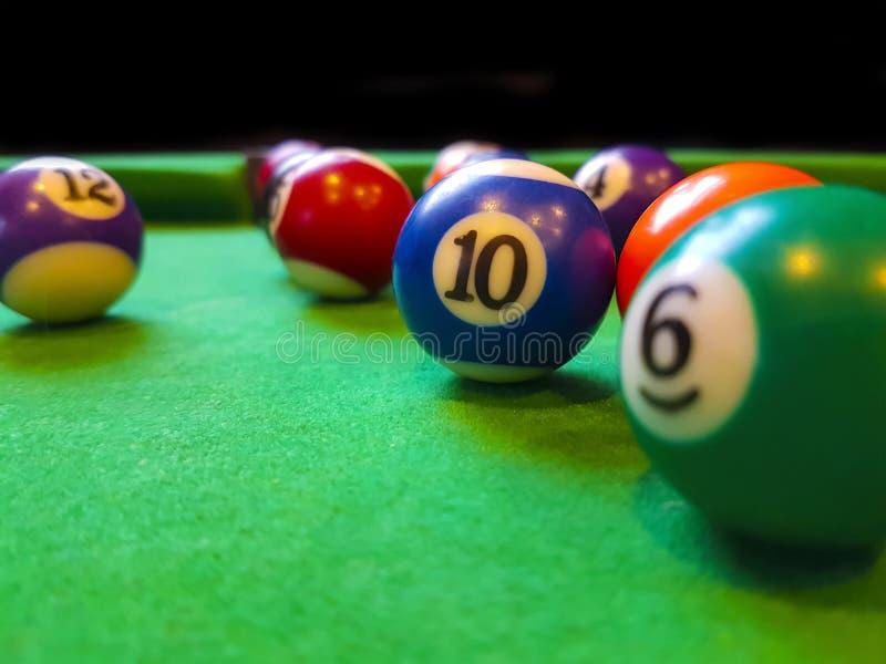 Download Billiards stock image. Image of entertainment, closeup - 101404935