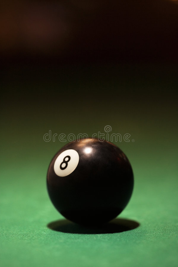 Download Billiards eight ball. stock photo. Image of life, photograph - 2044066