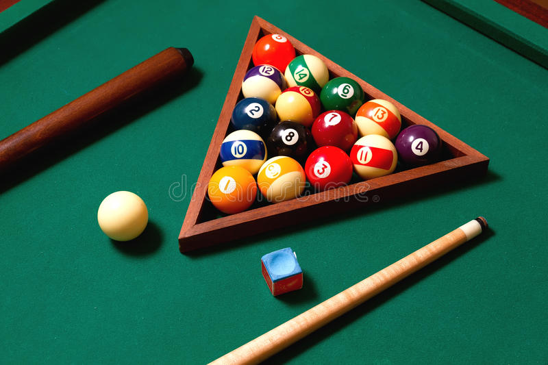Download Billiards elements stock photo. Image of object, close - 26572750