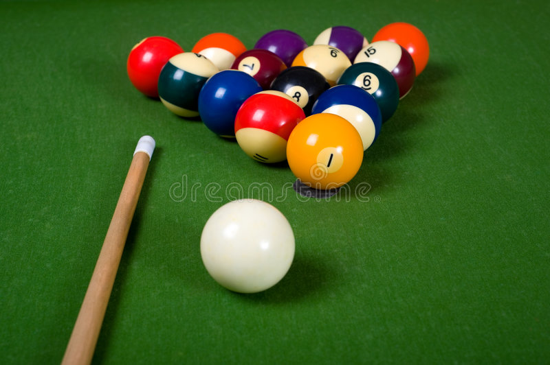 Download Billiards of Pool stock image. Image of activity, play - 5932347