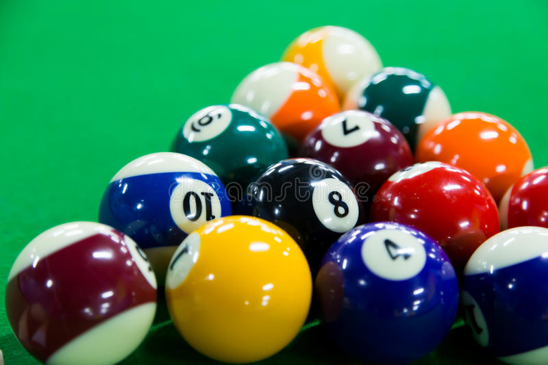 Download Billiards stock image. Image of pink, concept, competition - 39323055