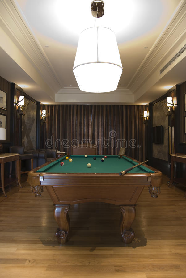Download Billiards Room stock image. Image of gentlemen, colours - 17802535
