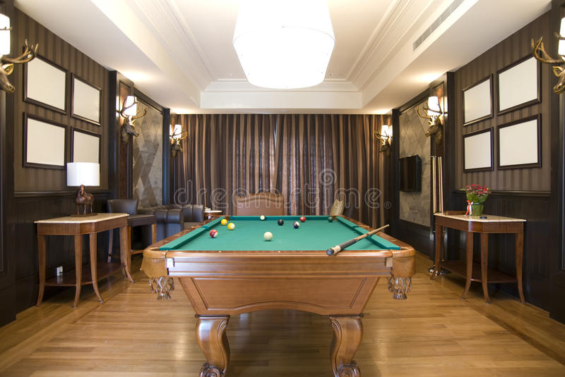 Download Billiards Room stock photo. Image of colours, games, competition - 17802558