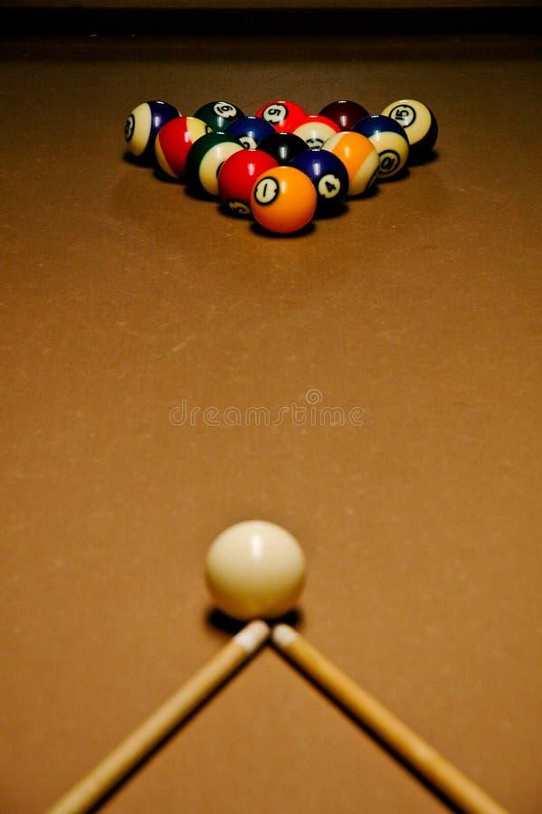 billiards stół fotografia royalty free