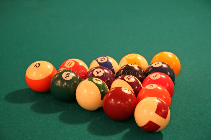 Download Billiards Table Royalty Free Stock Photography - Image: 1413777