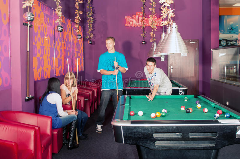 Download Billiards stock photo. Image of friends, teens, table - 35952824