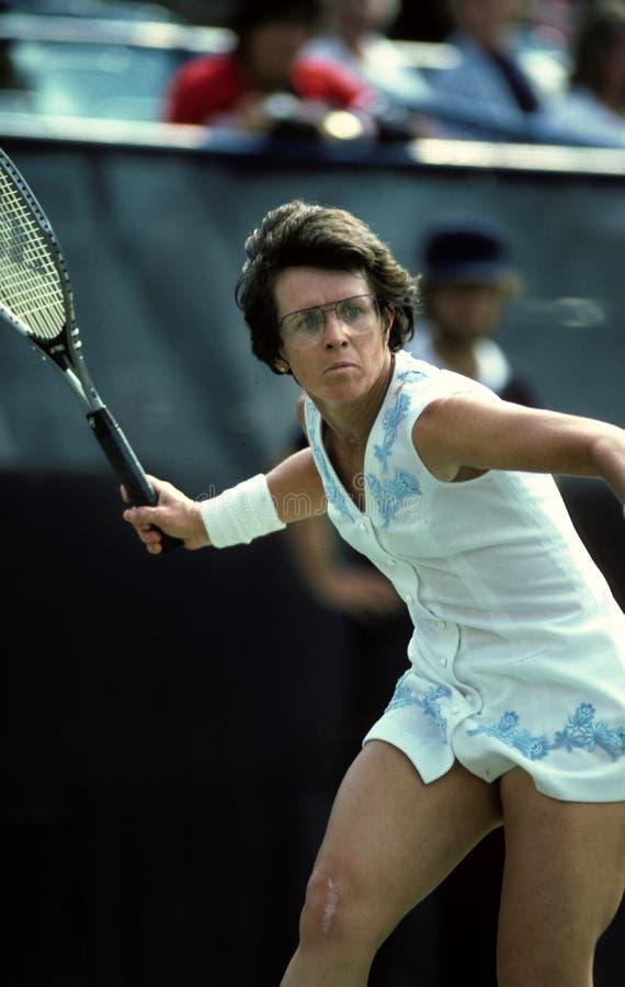 Billie Jean King royalty-vrije stock fotografie