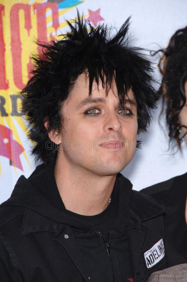 Billie Joe Armstrong,Green Day Editorial Photography