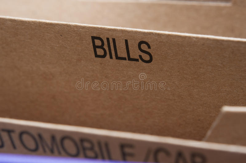Download Bills Royalty Free Stock Photography - Image: 23609637