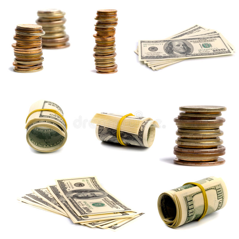 Download Bills And Coins Royalty Free Stock Photos - Image: 13077818