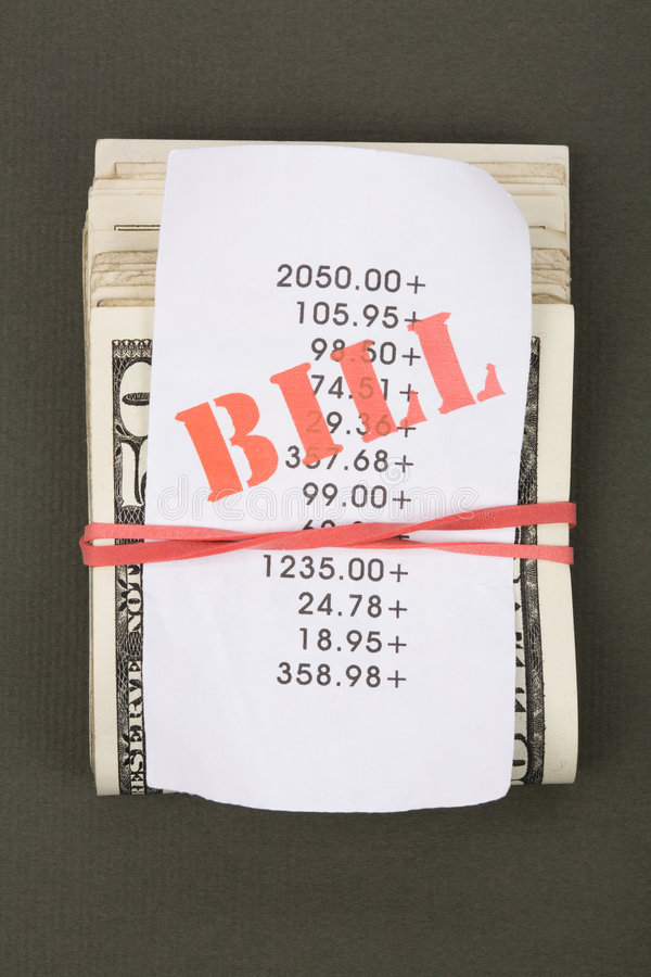 Download Bills and dollars stock image. Image of bill, keeping - 4772757