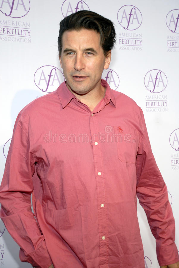 Billy Baldwin sur le tapis rouge image stock