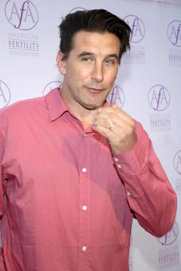 Billy Baldwin sur le tapis rouge image libre de droits