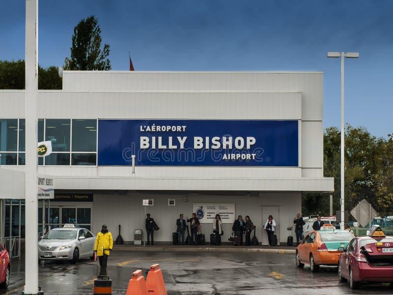 Billy Bishop Airport stock foto