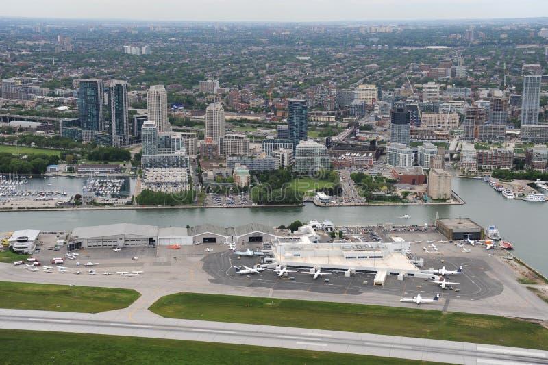 Billy Bishop Airport, Toronto, Ontario image libre de droits