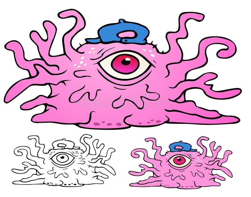 Billy Bob Blob ilustração royalty free