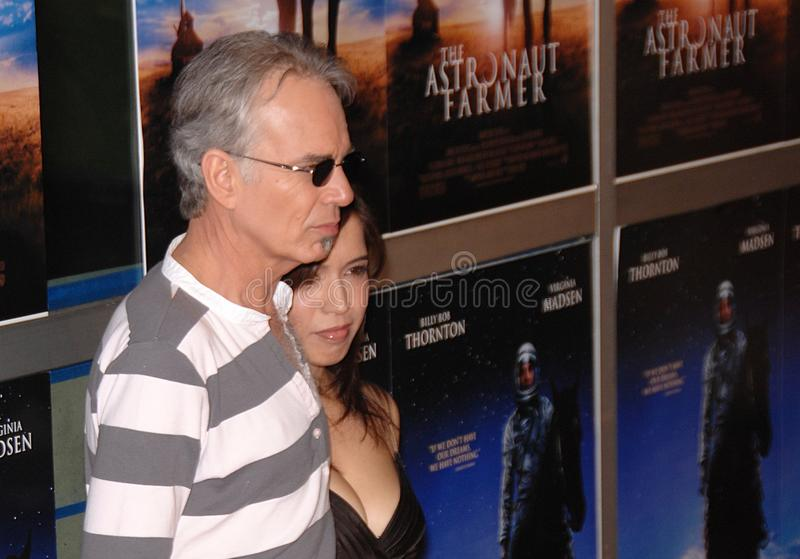 Billy Bob Thornton, Connie Angland photos stock