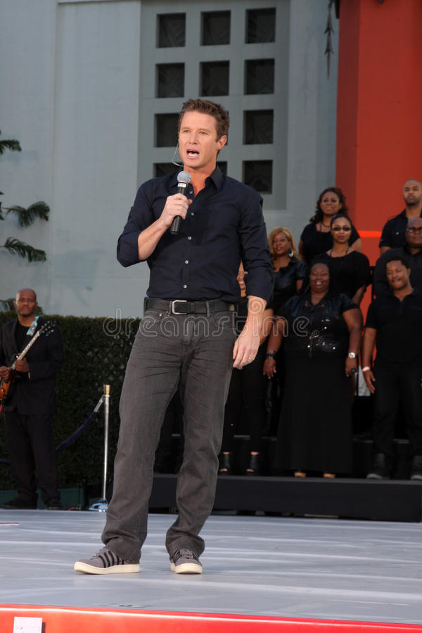Billy Bush, Michael Jackson foto de stock